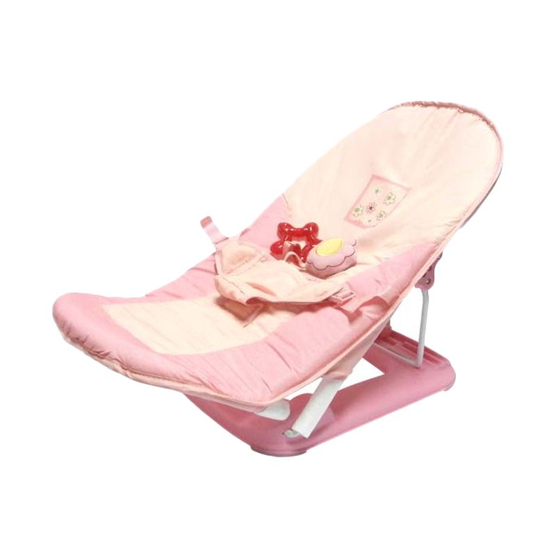 Pliko Fold Up Infant Seat Pink Baby Bouncer