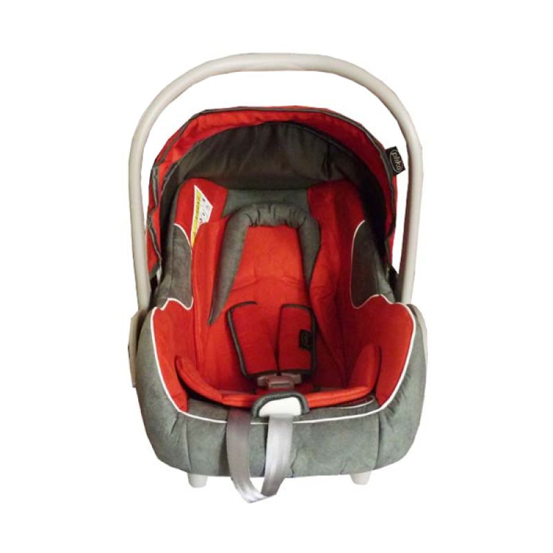 Pliko PK02 Red Grey Baby Car Seat