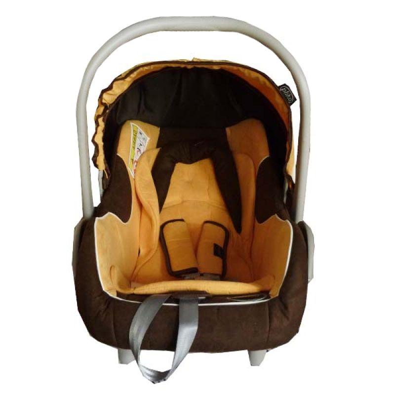 Pliko PK02 Yellow Brown Baby Car Seat