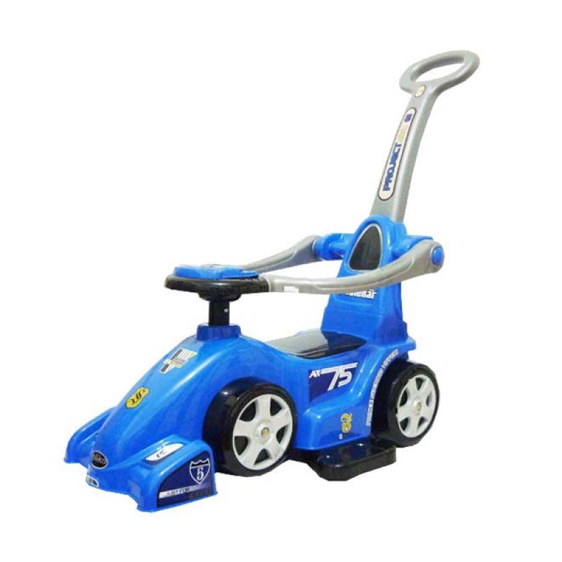 Pliko Ride On F-1 Blue Mainan Anak