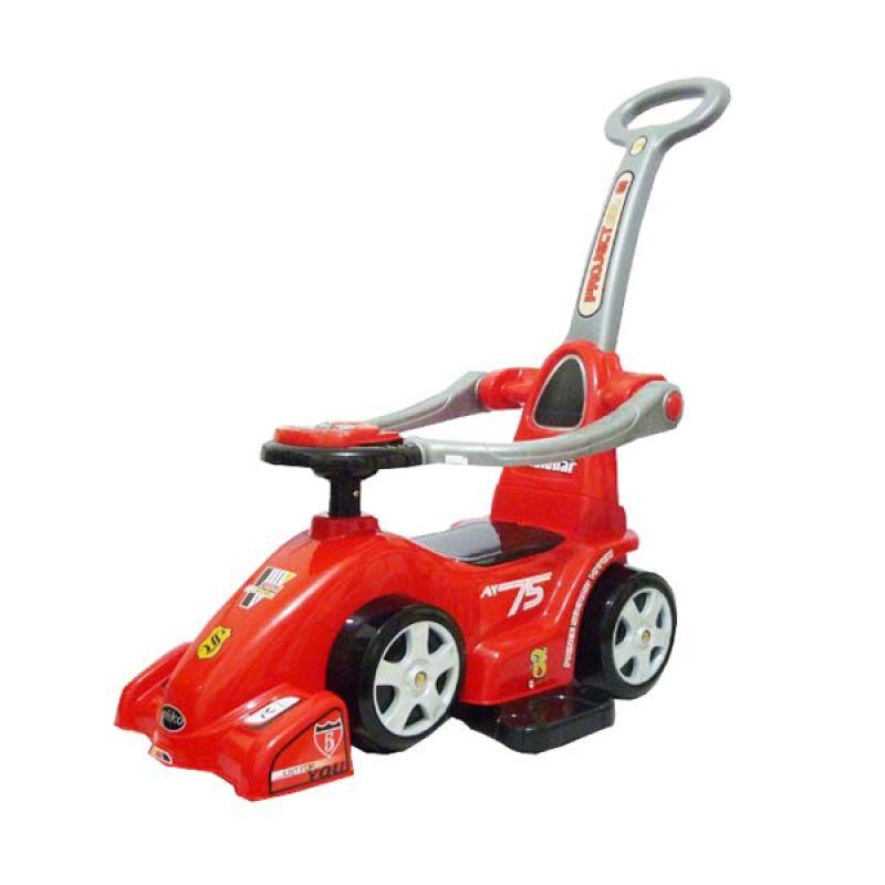 Pliko Ride On F-1 Red Mainan Anak