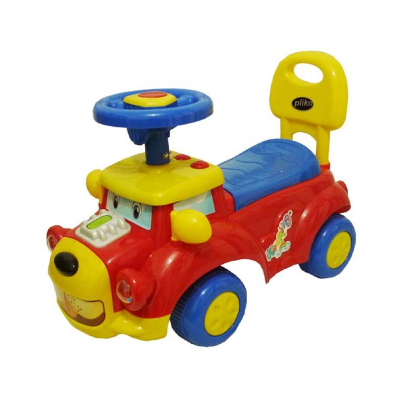 Pliko Ride On Happy Car Red Mainan Anak