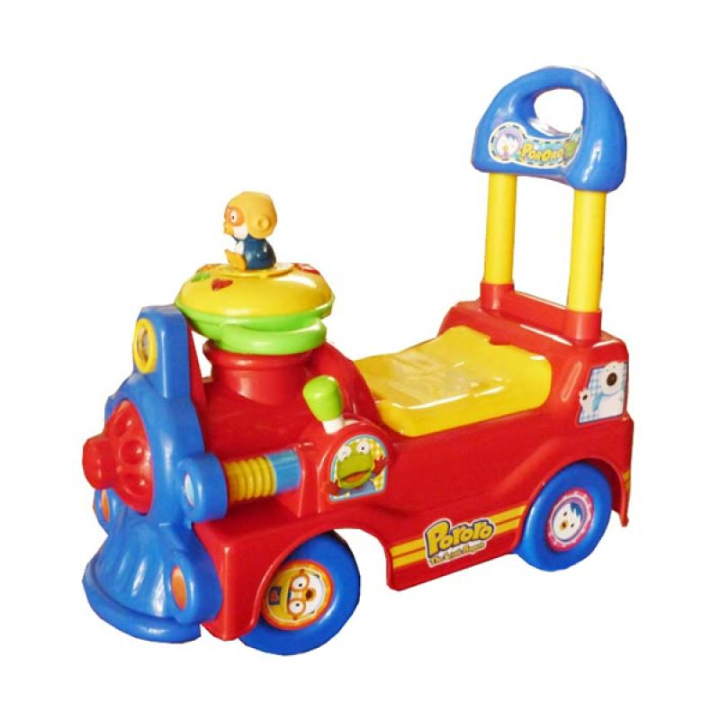 Pliko Ride On Pororo 422 Red Mainan Anak