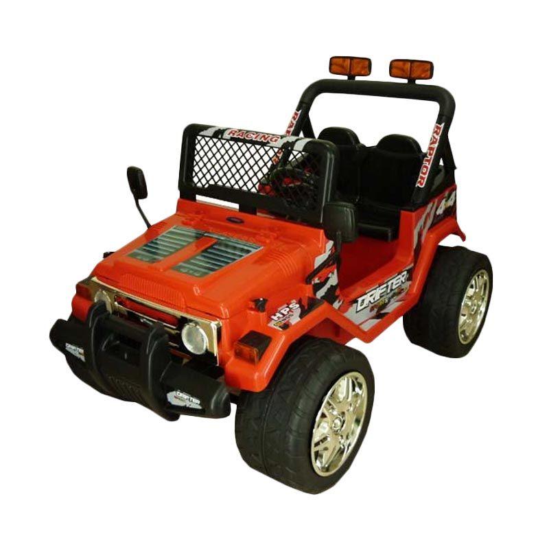 Pliko Mobil Rubicon Adventure PK 8628 Merah Mainan Anak