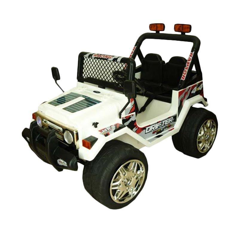 Pliko Mobil Rubicon Adventure PK 8628 Putih Mainan Anak