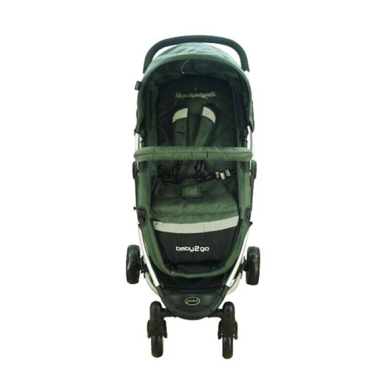 Pliko Stroller Baby 2 Go Grey Kereta Dorong
