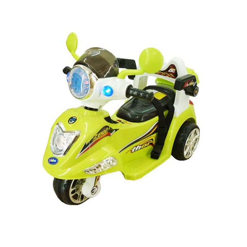 Pliko Vezpa PK 6100 Hijau Motor Mainan Anak