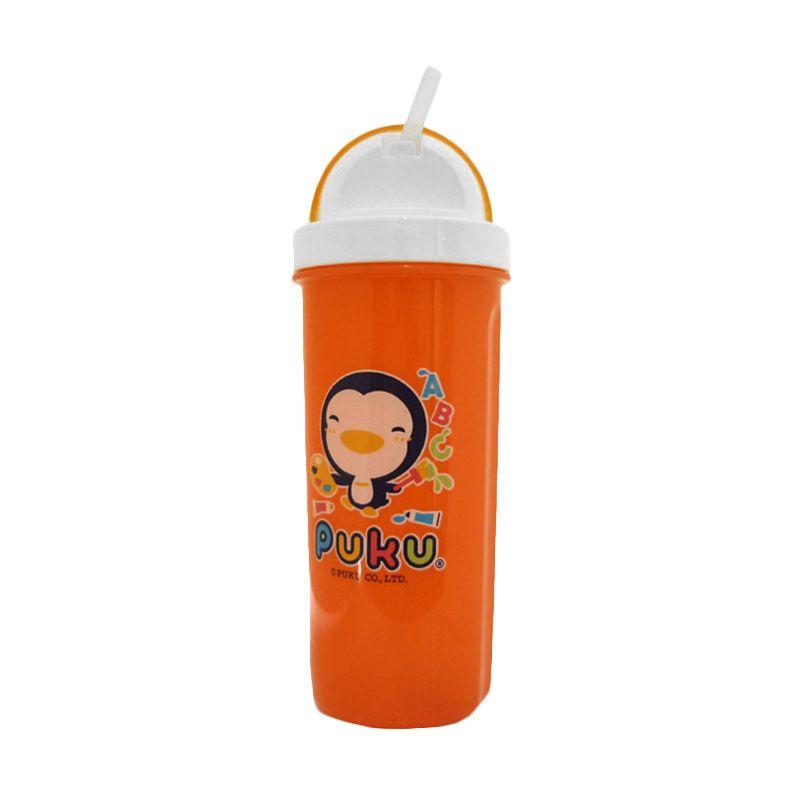 Puku Water Bottle Orange Botol Minum Anak