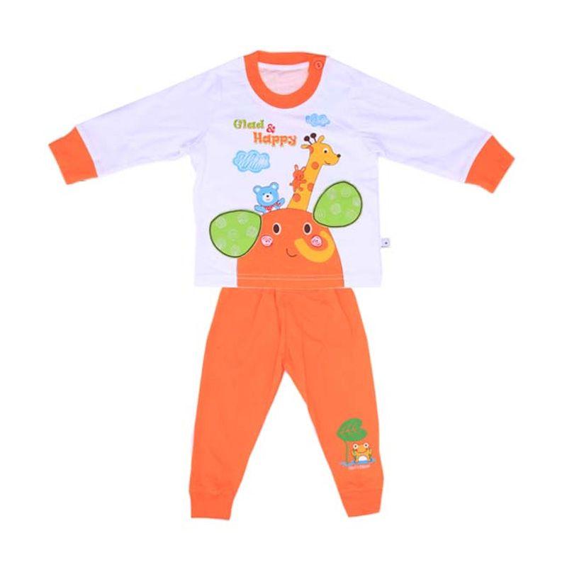 Tatami Glad And Happy Orange Baju Tidur Anak