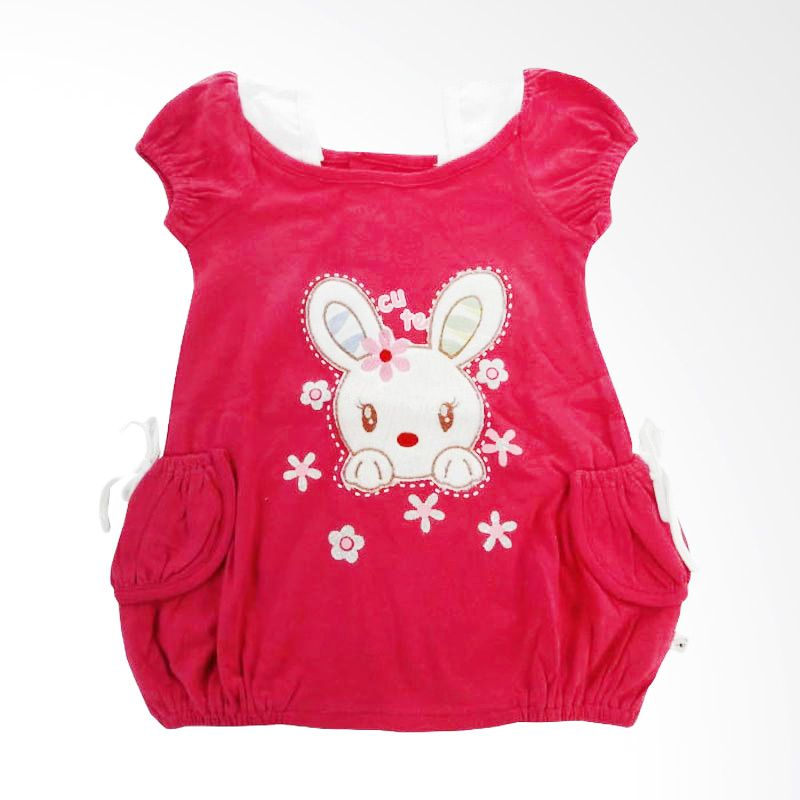 Tatami Rok Cute Rabbit - Pink