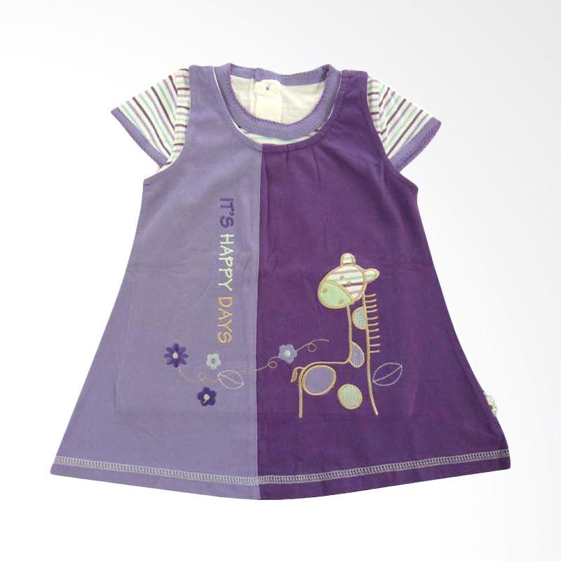 Tokusen Dress+T-Shirt Its Happy Day Purple