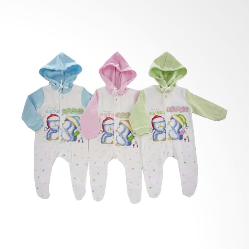 Tokusen Have A Great Birthday 2 Jumpsuit Anak [Set of 3]