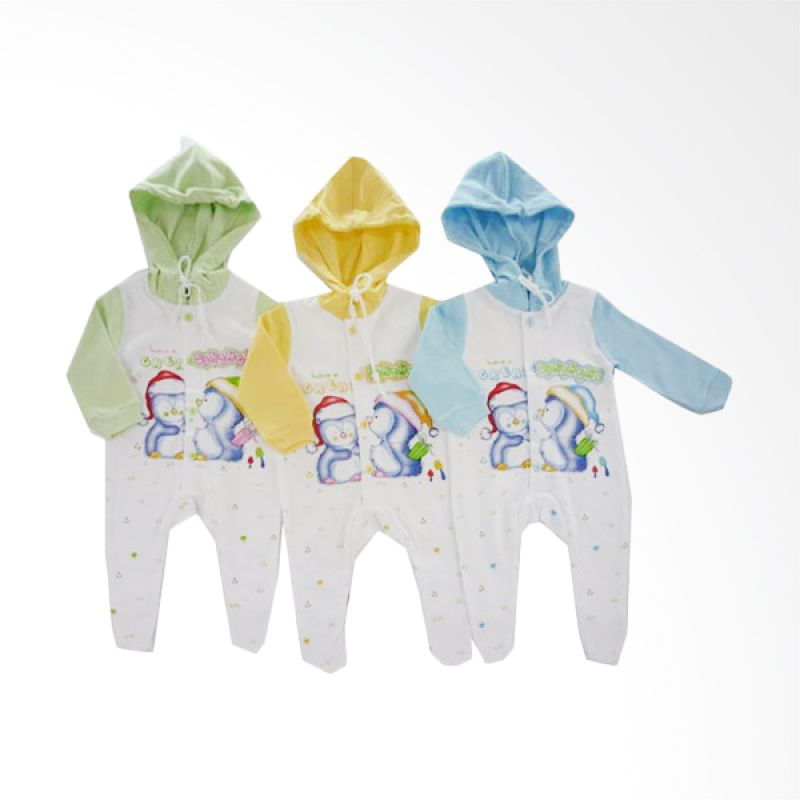 Tokusen Have A Great Birthday Jumpsuit Anak [Set of 3]