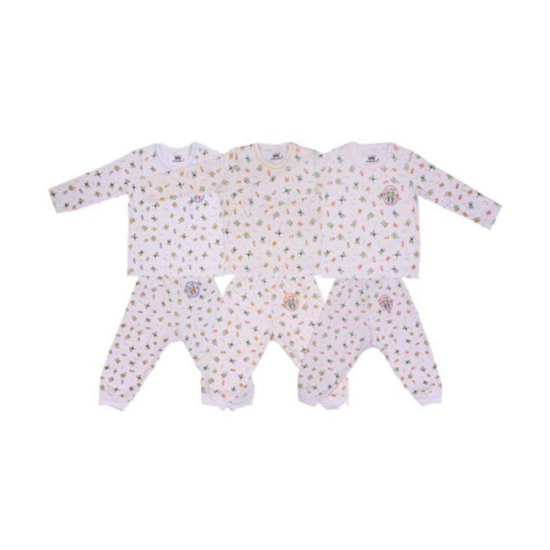 Tokusen K BKP Rip Frogy Setelan Bayi [Biru/Kuning/Pink]
