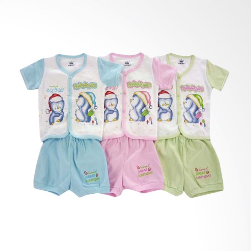 Tokusen TPCSG4B Have A Great Birthday Setelan Baju Anak [Set of 3]