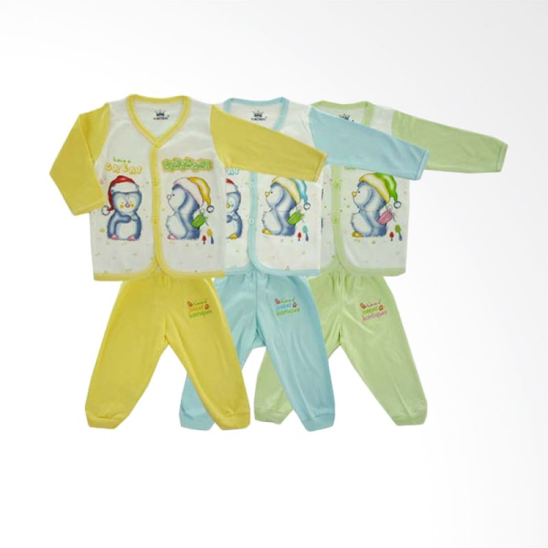 Tokusen TKPCPR Have A Great Birthday Setelan Baju Anak [Set of 3]