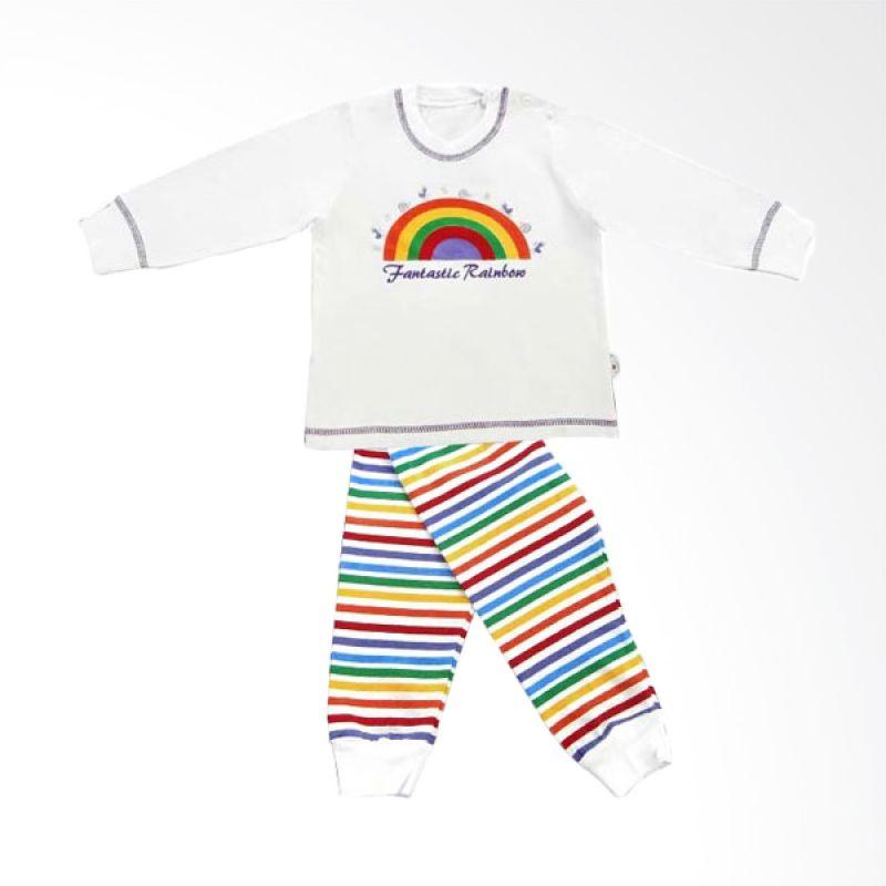 Tokusen Piyama Panjang Fantastic Rainbow Ungu