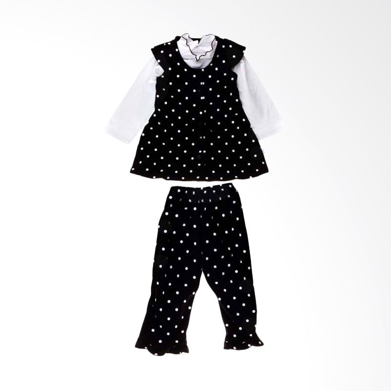 Tokusen St. Blus + Rok Black And White