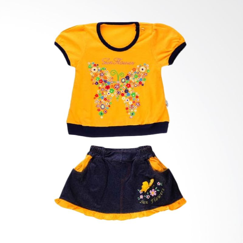 Tokusen ST T-Shirt + Rok Sun Flower Yellow