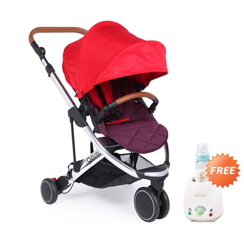 BabyStyle Oyster Gem Red Kereta Dorong Bayi