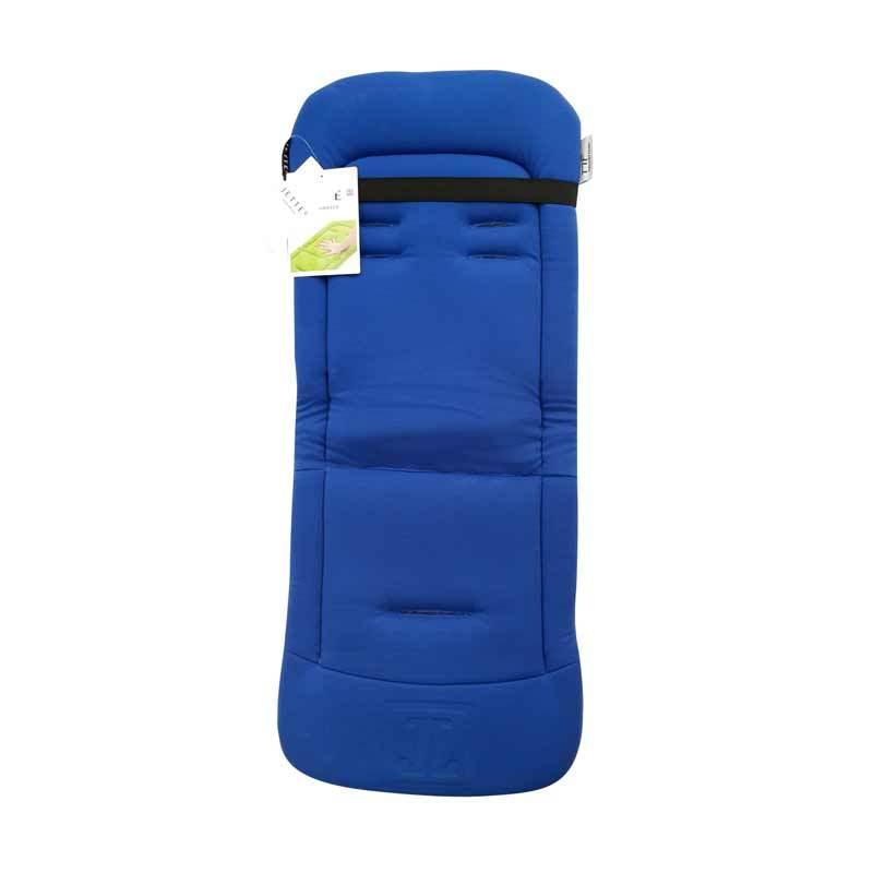 Jette Memory Foam Royal Blue Padding Buggy Overlay Bantalan Stroller