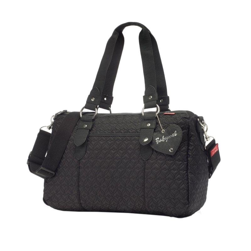Babymel Ella Quilted Shoulder Bag Tas Bayi - Black