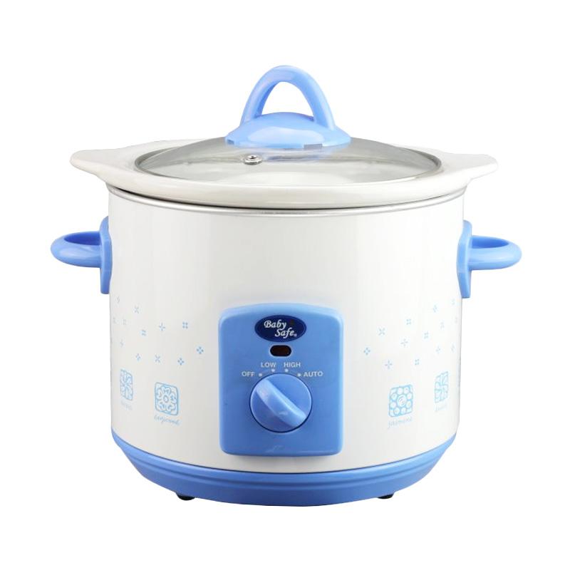 BabySafe LB006 White Blue Slow Cooker