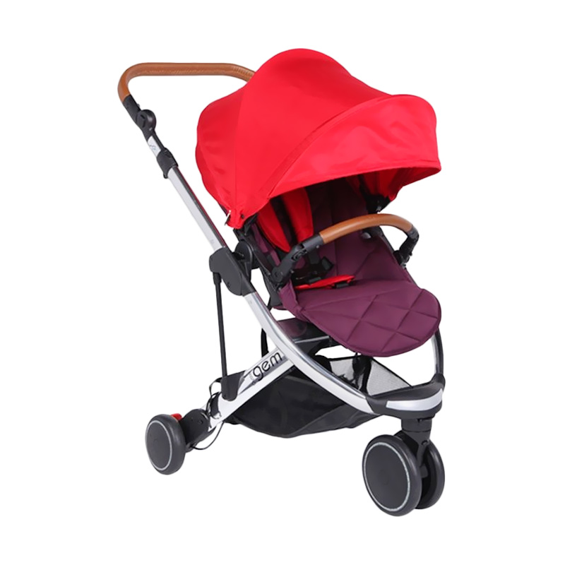 Babystyle Oyster Gem Stroller - Red OY-1001-R