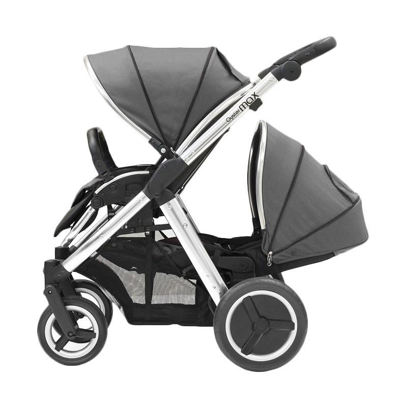 Babystyle Oyster Max 2 Tandem Slate Grey Kereta Dorong Bayi