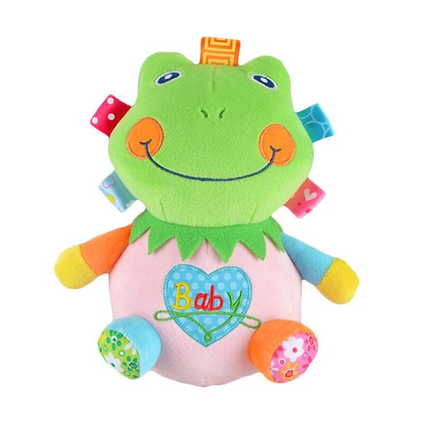 Babywinstore JB Happy Tumbler Soft Toy Froggie Boneka