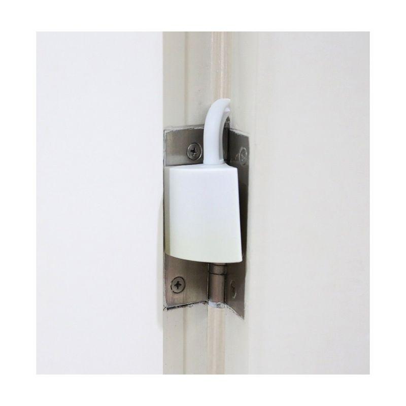 AmanBayiKu Finger Pinch Door Guard White Pengaman Pintu [2 Pcs]