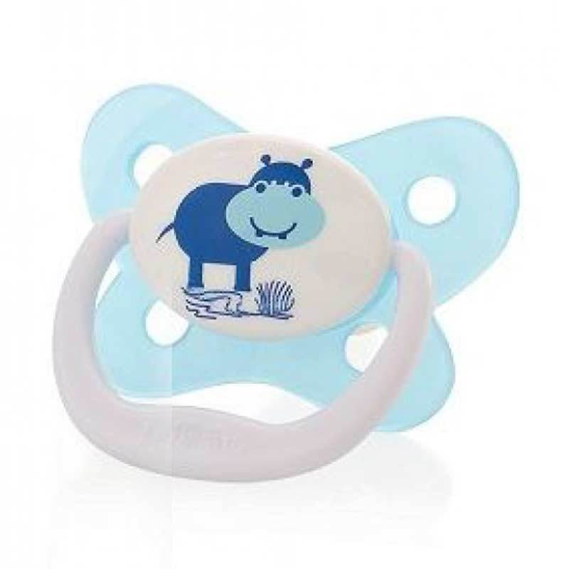 Dr. Brown's Special Edition Butterfly Prevent Blue Hippo Pacifier [0-6m]