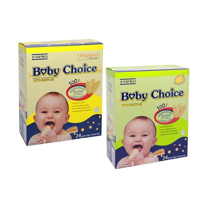 Empro Baby Choice Combo Snack Bayi [2 Pack/Chicken + Original]