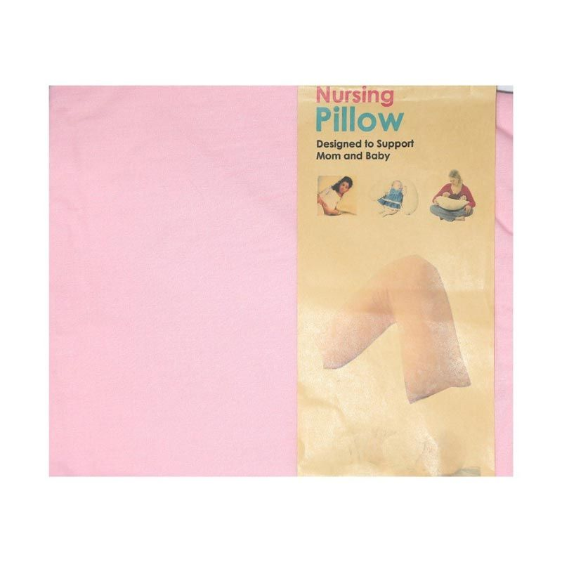 Garyman Nursing Pillow Case Pink [Tanpa Bantal]