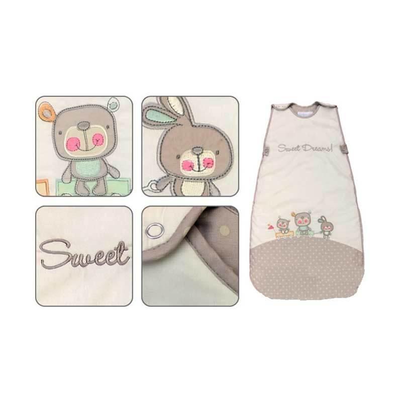 The Dream Bag Baby Blanket Sweet Dreams [0-6 M/Tebal]