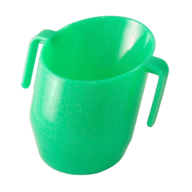 Doidy Green Sparkle Gelas