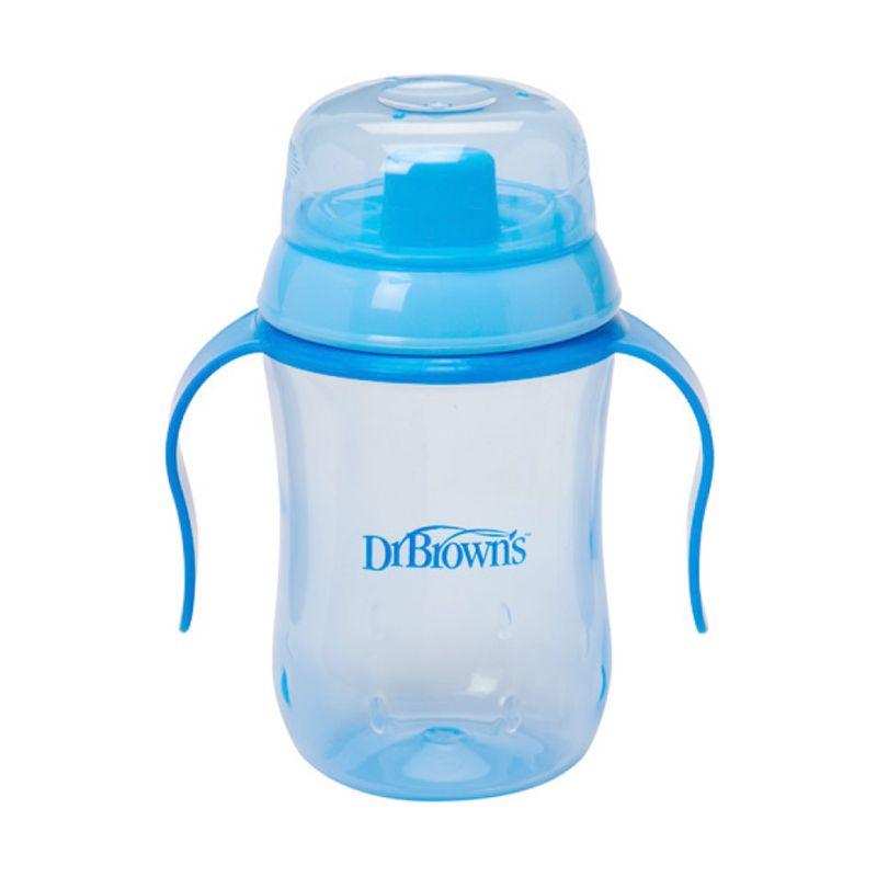 Dr. Brown's Hard Spout Blue Training Cup Gelas [9 Bulan+]