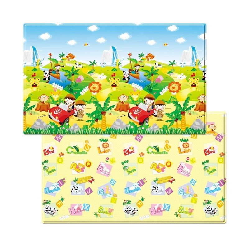 Dwinguler Safari Playmat Alas Lantai [230 x 140 x 1.5 cm]