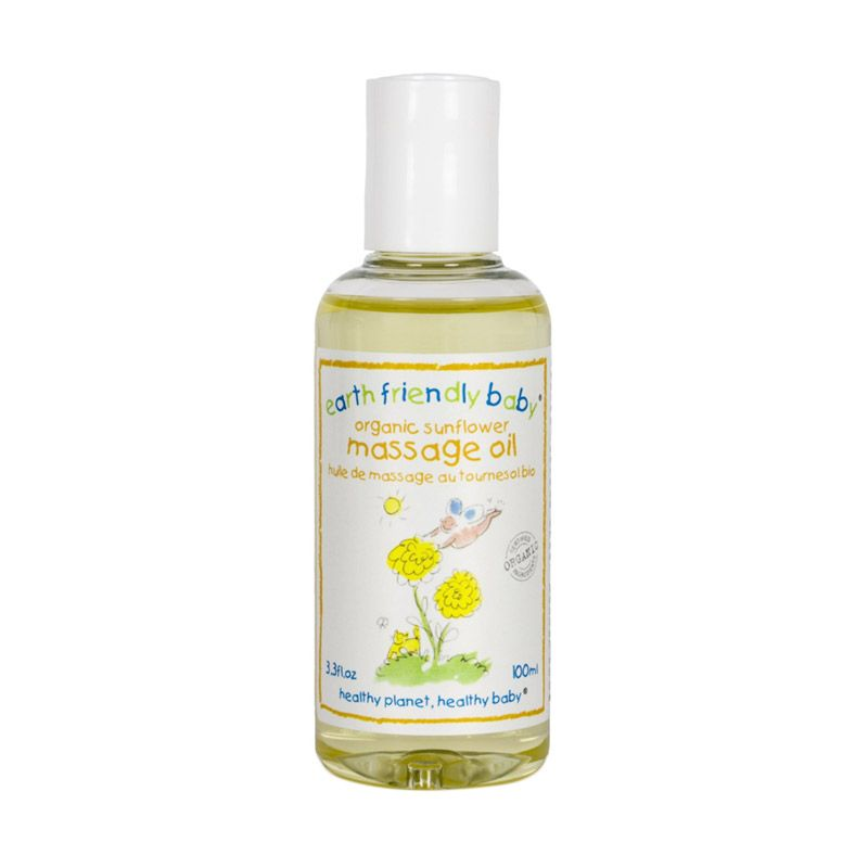 Earth Friendly Baby Natural Sunflower Massage Baby Oil [100 ml]