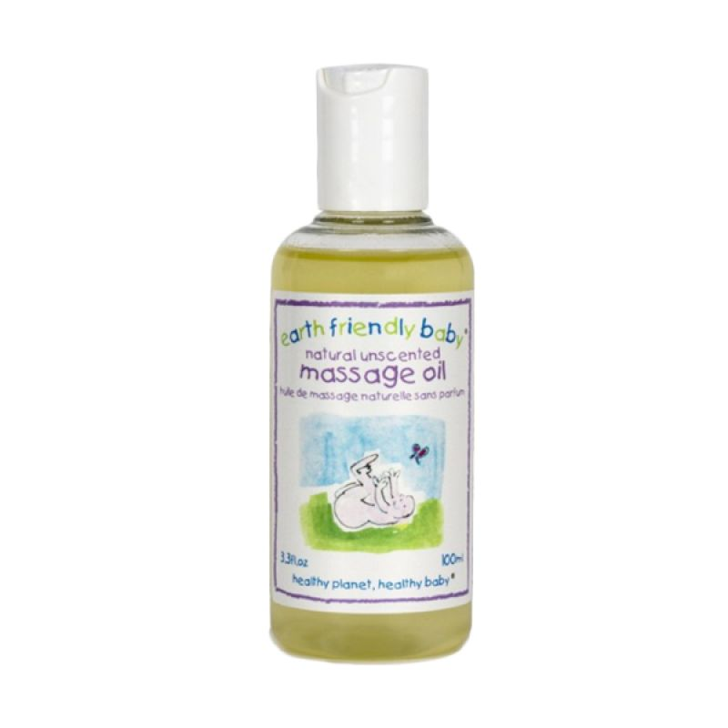 Earth Friendly Baby Natural Unscented Massage Baby Oil [100 ml]