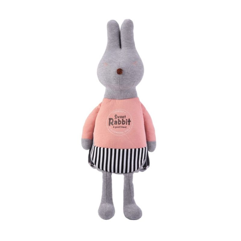 Emily Labels Backpack Bunny Series Peach Tas anak