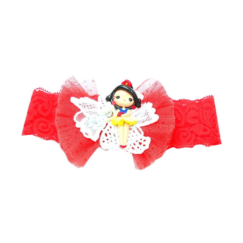 Emily Labels Clay Red Headband Tutu