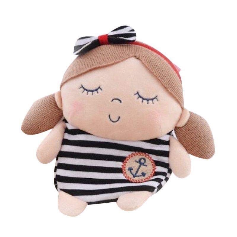 Emily Labels Sailor Sling Bag Black Stripe Tas Anak