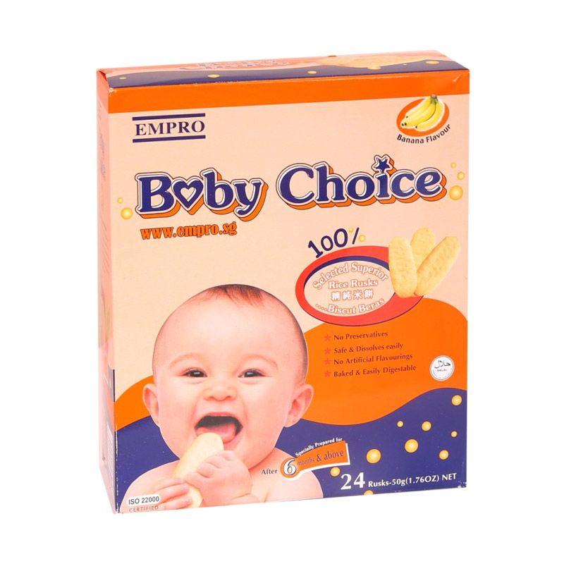 Empro Baby Choice Banana Snack Bayi [50 gr]