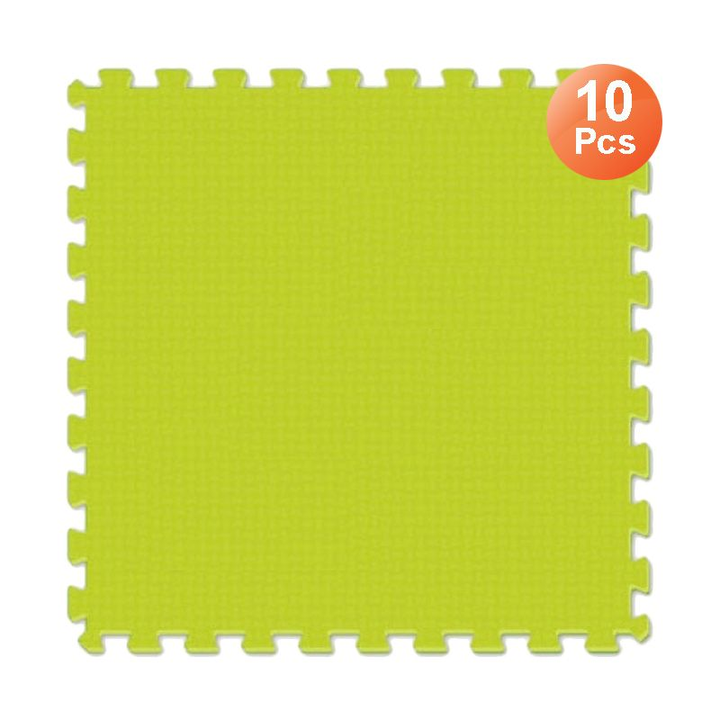Evamats Puzzle Polos Light Green Tikar [30 x 30 cm/ 10 Pcs]