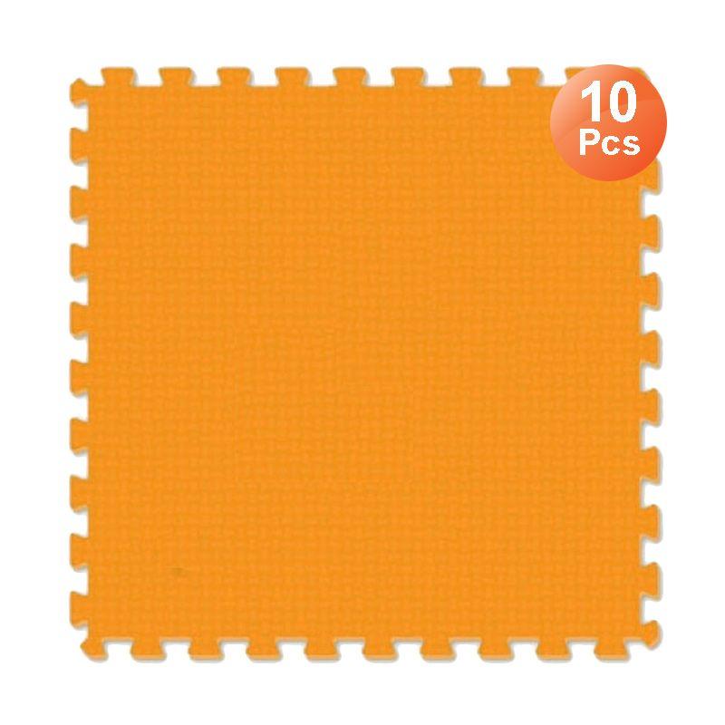 Evamats Puzzle Polos Orange Tikar [30 x 30 cm/ 10 Pcs]