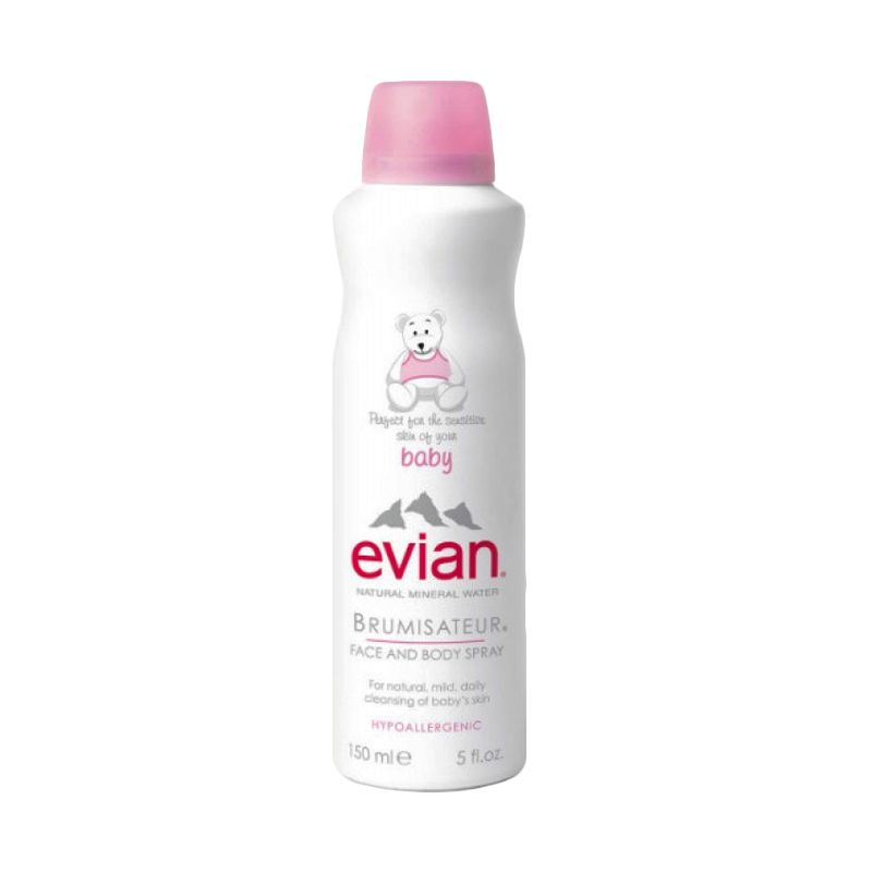 Evian Baby Face and Body Spray [150 mL]