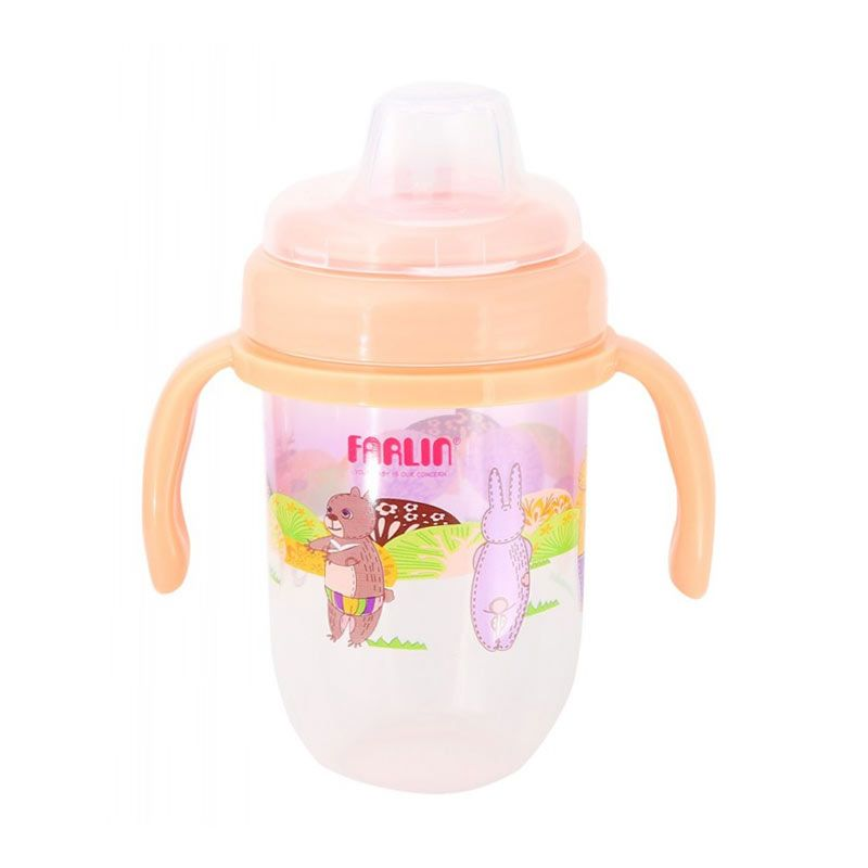 Farlin Gulu Spout Learner Brown [240ml]