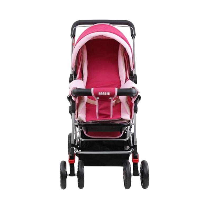 Farlin Pink Baby Stroller