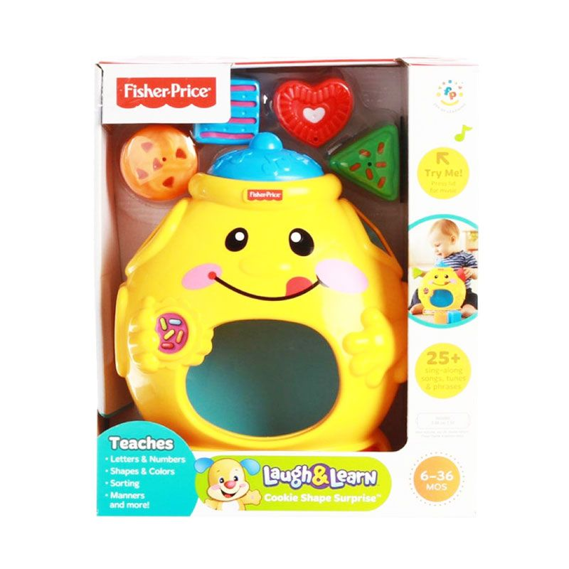 Fisher Price Laugh & Learn Cookie Shape Surprise Mainan Bayi